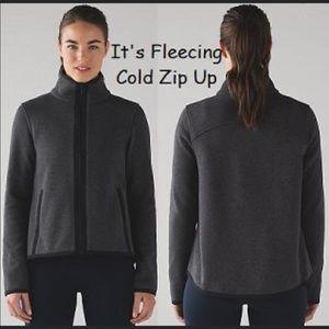 Lululemon it's fleecing cold jacket